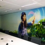 NBN Boardroom mural