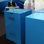 NBN blue cabinets