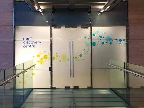 NBN Discovery Centre entry