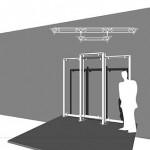 NL-Tec 3x3m frame
