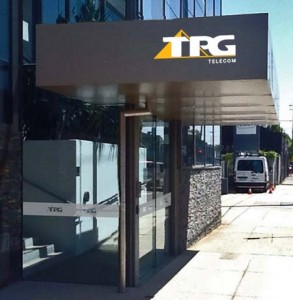 TPG awning sign