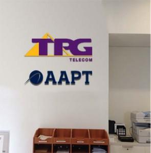 TPG reception logos