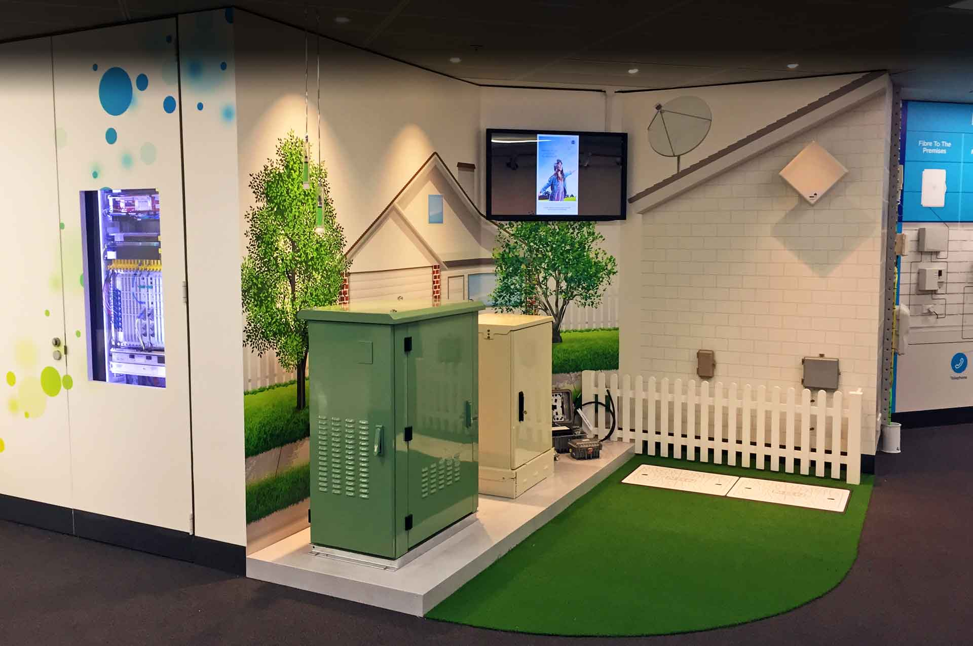 NBN Discovery Centre fitout