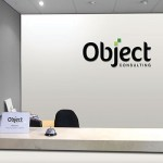 Object reception wall