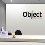Object reception wall