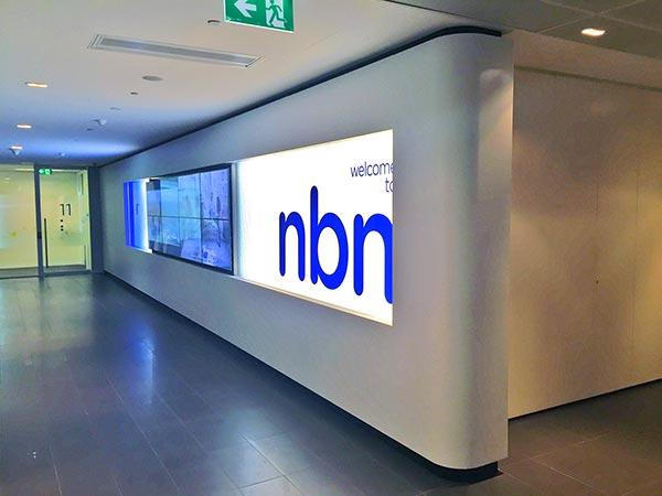 NBN Lift lobby right