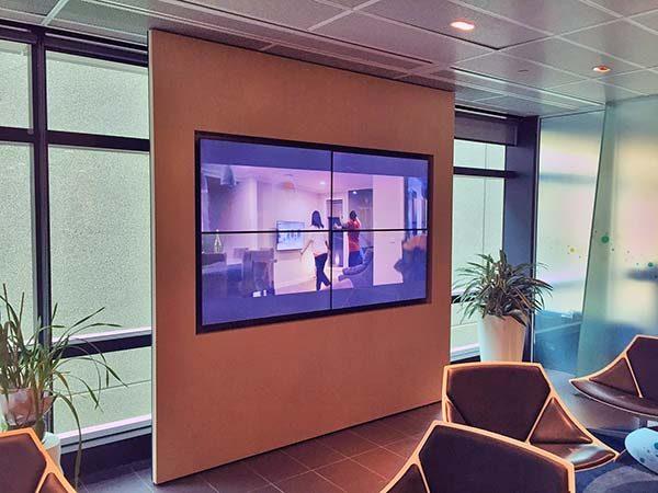 NBN monitor wall
